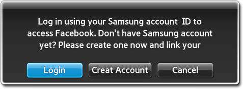 Feedback message when not logged in
