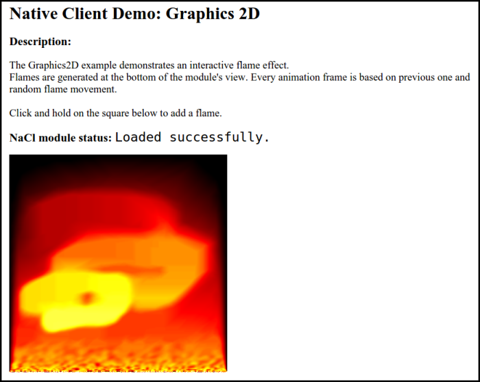 Figure 1. 2D graphics in C++ application