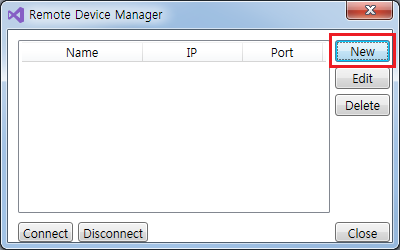 Figure 9. Remote Device Manager